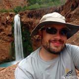 Adam Nutting Hiking the Trail