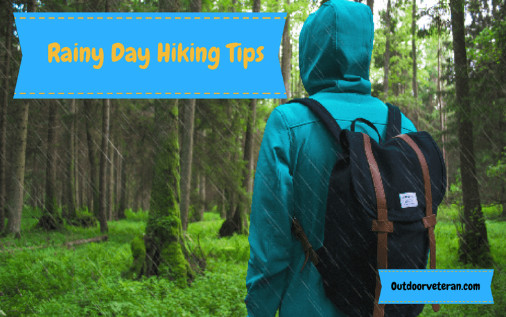 Top tips for hiking whilst it's raining