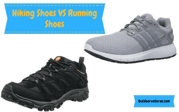 hiking v running shoes