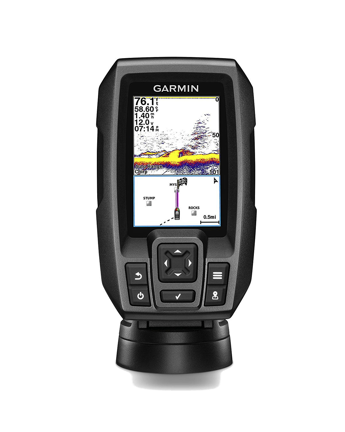 Garmin STRIKER 4CV the Best Kayak Fish Finder on the Market