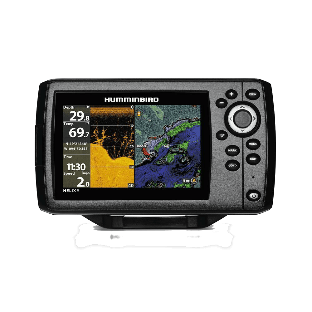 Humminbird Helix 5 CHIRP Di top 5 kayak fishfinders