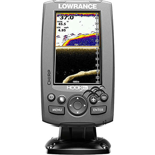 Lowrance 000-12641-001 Hook-4X Sonar top 5 kayak fish finders
