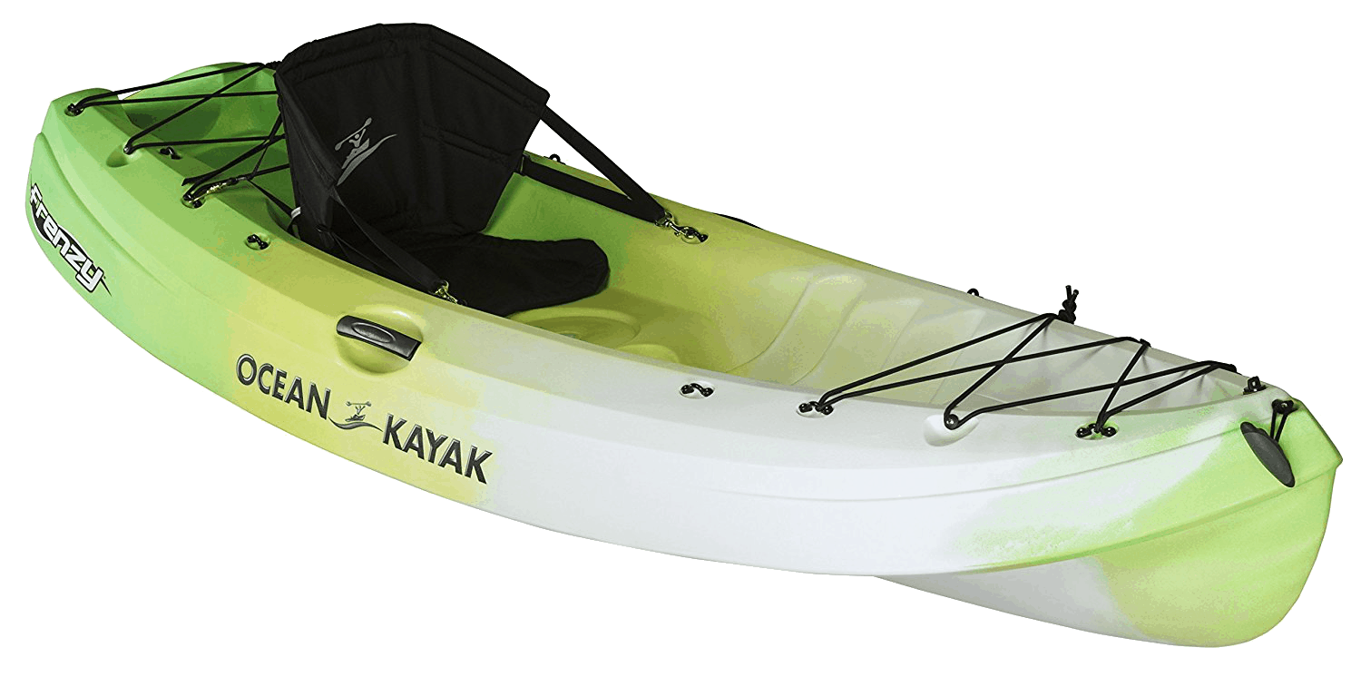 Top 5 Recreational Kayaks Ocean Kayak Frenzy Sit-On-Top Recreational Kayak