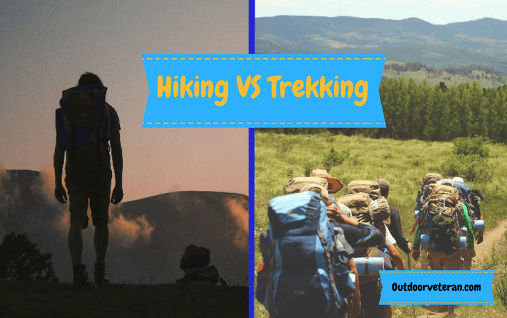 Hiking and trekking, what are the differences