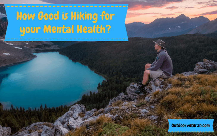 how does hiking effect mental health