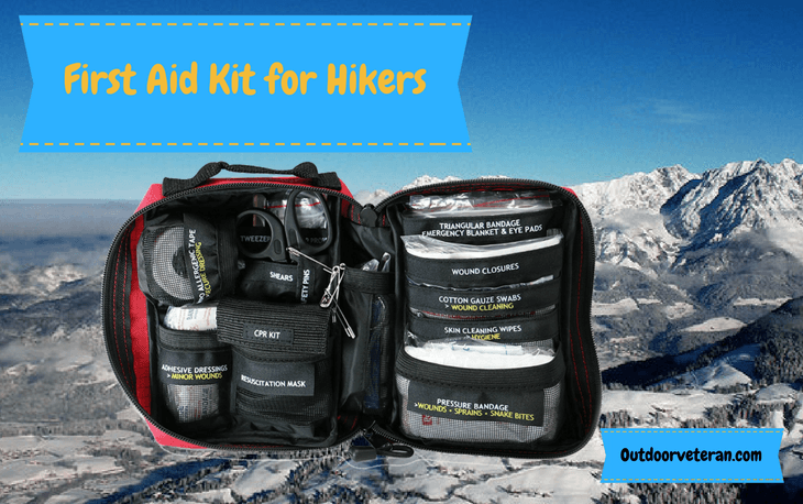 First Aid Kit for Hikers