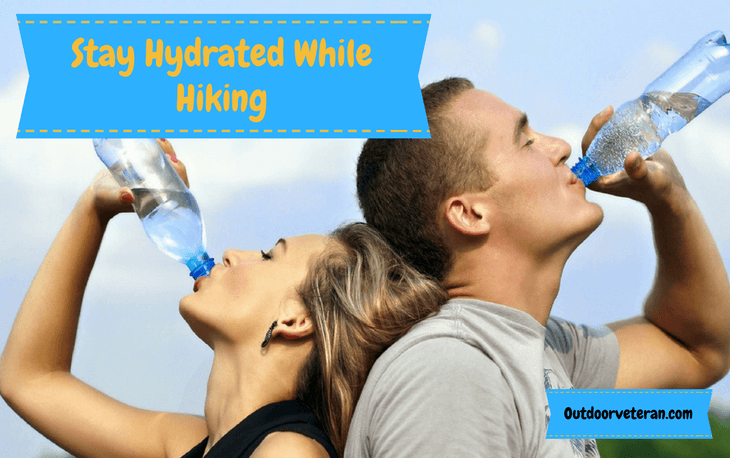 Stay Hydrated While Hiking