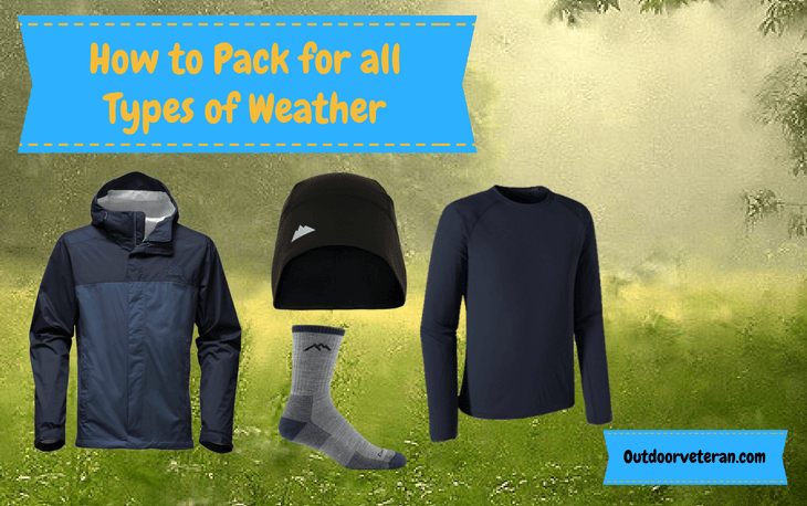 pack for all types of weather