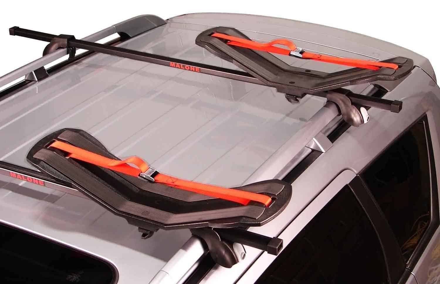 Kayak Saddle Carrier on car