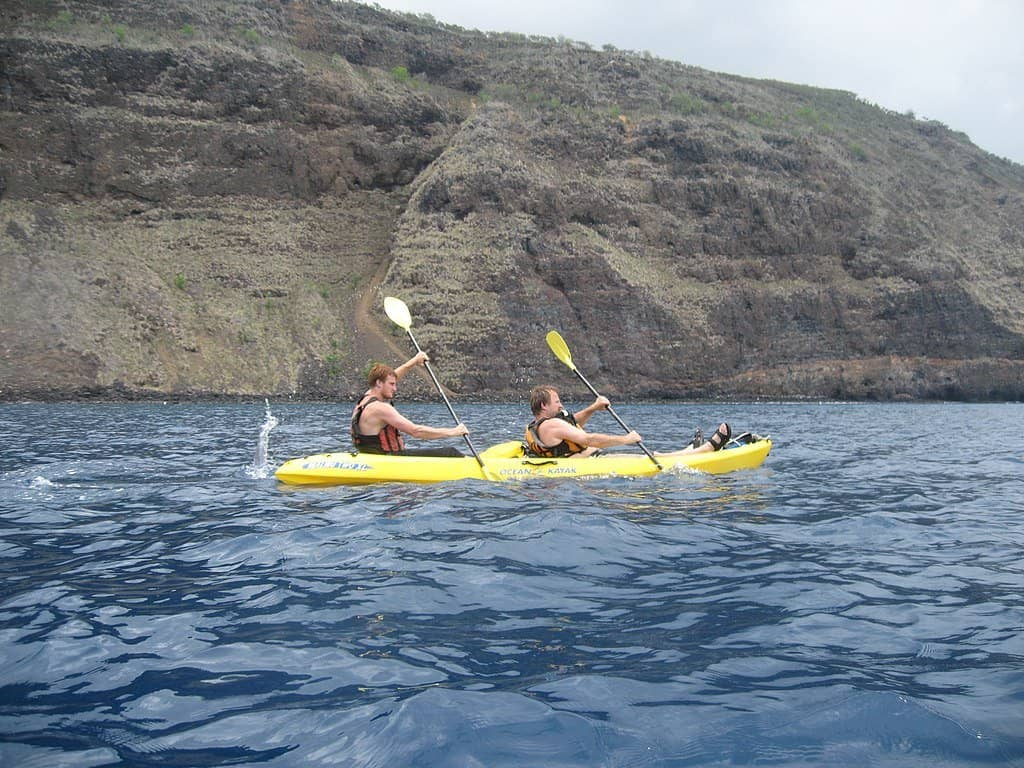 View Larger Image Tandem Sea Kayak