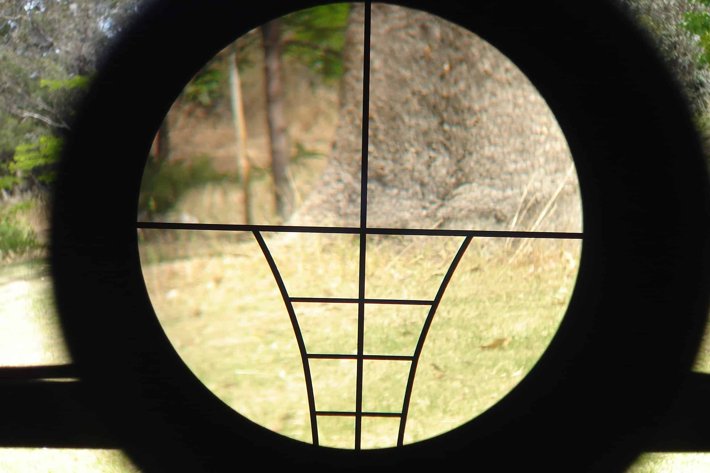 How to sight in a crossbow scope.