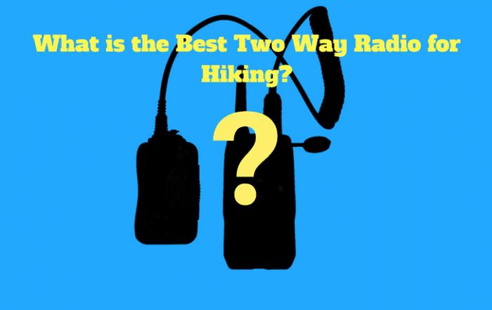 Two Way Radio for Hiking