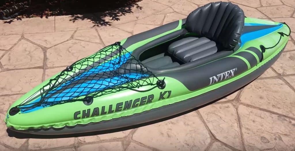 Intex Challanger K1 Inflatable Kayak Review