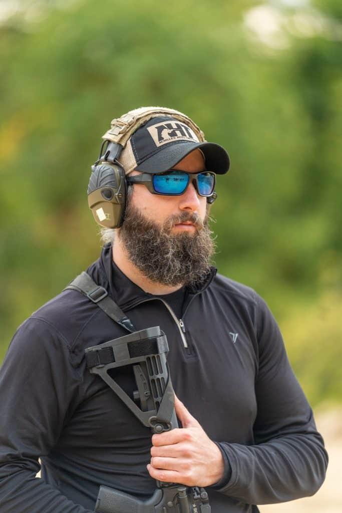 Shoulder Rifle Carry