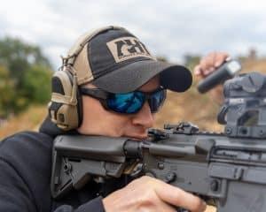 AR15 Firing Position